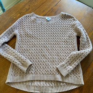 Old Navy Knit Mauve Sweater